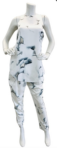 3.1 Phillip Lim Creme Silk  printed pant set