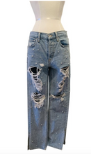 Load image into Gallery viewer, Jonathan Simkhai Light wash blue jeans