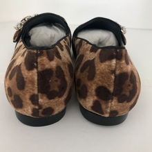Load image into Gallery viewer, Dolce & Gabbana Pony Animal Print Embellished Shoes Sz. 38.5