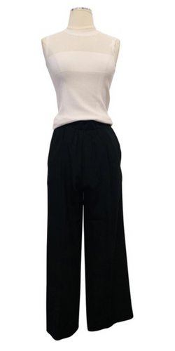 Christian Dior Vintage High-Rise Wide-Leg Pants