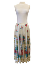 Load image into Gallery viewer, Manoush White and Multicolor Maxi Skirt