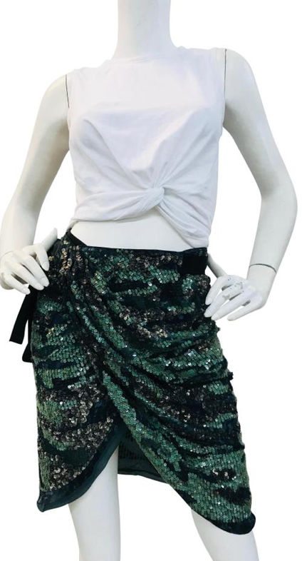 Isabel Marant Sequins Mini Skirt 36