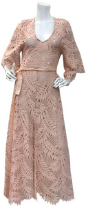 Alexis Rose Keven Crochet Casual Maxi Dress