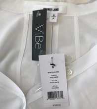 Load image into Gallery viewer, Helmut Lang White Axio Blouse