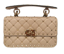 Load image into Gallery viewer, Valentino Nude Rockstud Crossbody Bag