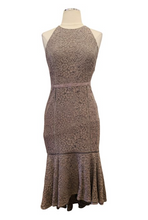 Load image into Gallery viewer, The Jetset Diaries Grey Lace Dress