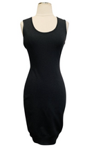 Load image into Gallery viewer, Emilio Pucci Black Sleeveless Wool Mini Dress