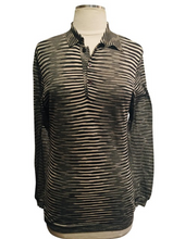 Load image into Gallery viewer, Missoni Black and White Lightweight Blouse