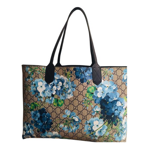 Gucci GG Supreme Blooms Coated Canvas Tote