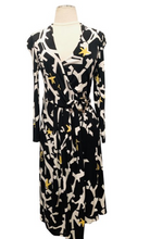Load image into Gallery viewer, Gucci Black and Multicolor Midi Dress