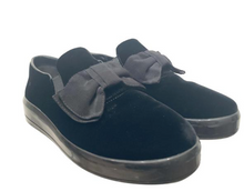 Load image into Gallery viewer, Prada Black Suede Slip-on Sneakers sz 40