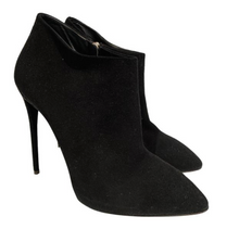 Load image into Gallery viewer, Giuseppe Zanotti Black Suede Ankle Booties sz. 39