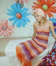 Load image into Gallery viewer, Cecilia Prado Knitted Crochet Dress