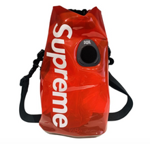 Load image into Gallery viewer, Supreme SealLine Clear Red Discovery Dry Bag