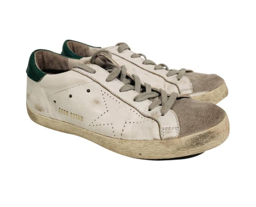 Golden Goose Leather Superstar Sneakers 38