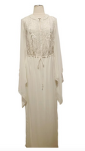 Load image into Gallery viewer, Tadashi Shoji Ivory Embroidery Gown