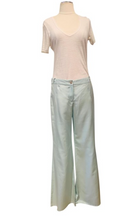 Load image into Gallery viewer, Chanel Light Blue Wide-leg Pants