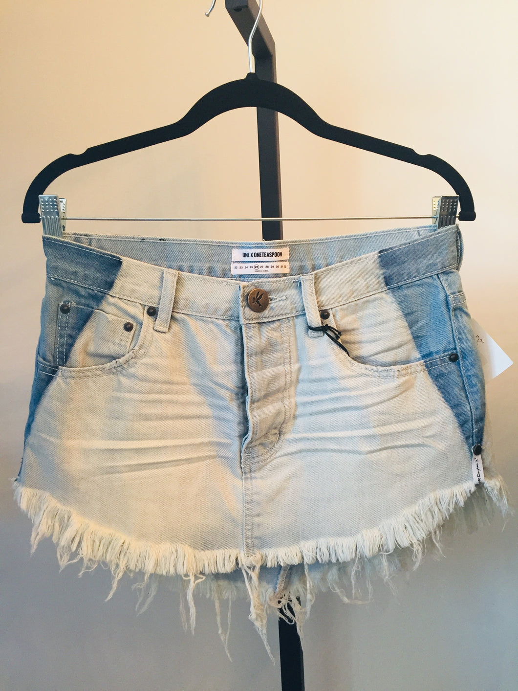 One x Oneteaspoon Denim Skirt