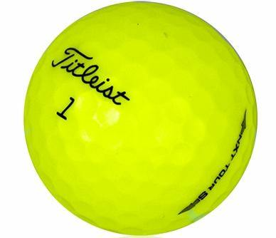New Titleist NXT Tour S Yellow (logo Overruns) - Golf Balls Direct