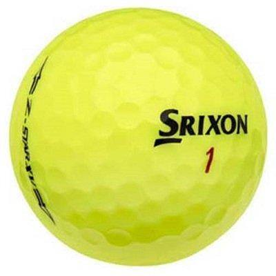 Srixon Z Star XV Yellow - Golf Balls Direct