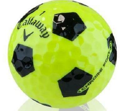 Callaway Chrome Soft X Yellow Truvis - Golf Balls Direct