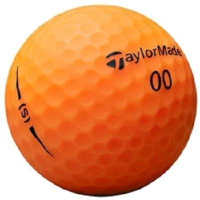 2018 TaylorMade Project (s) Matte Orange - Golf Balls Direct