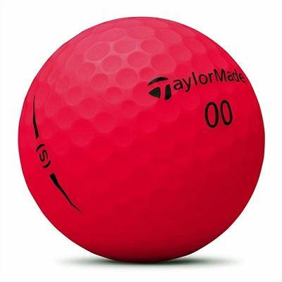 2018-19 TaylorMade Project (s) Matte Red - Golf Balls Direct