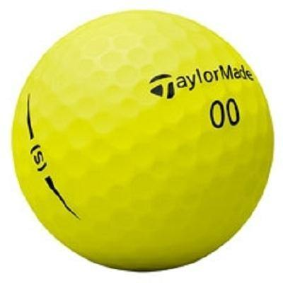 2018 TaylorMade Project (s) Matte Yellow - Golf Balls Direct