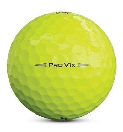 2019 Titleist Pro V1x Yellow (with Logos) - Golf Balls Direct