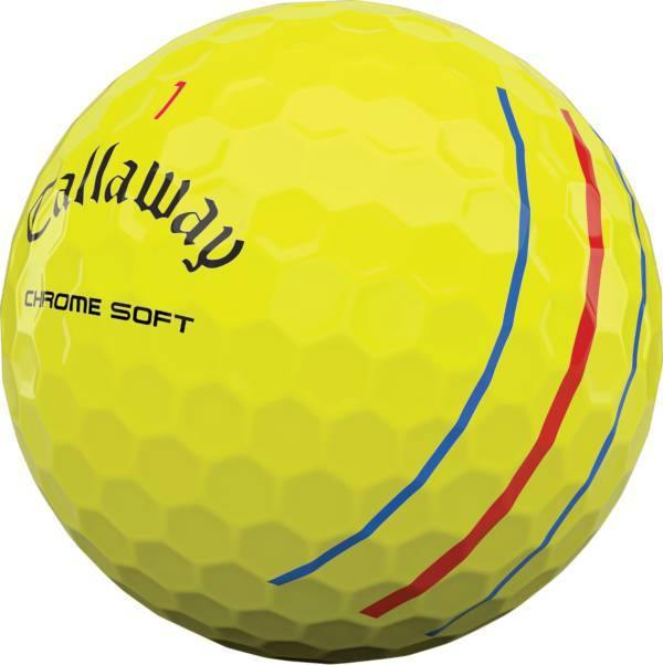 2020 Callaway Chrome Soft Yellow with Triple Track