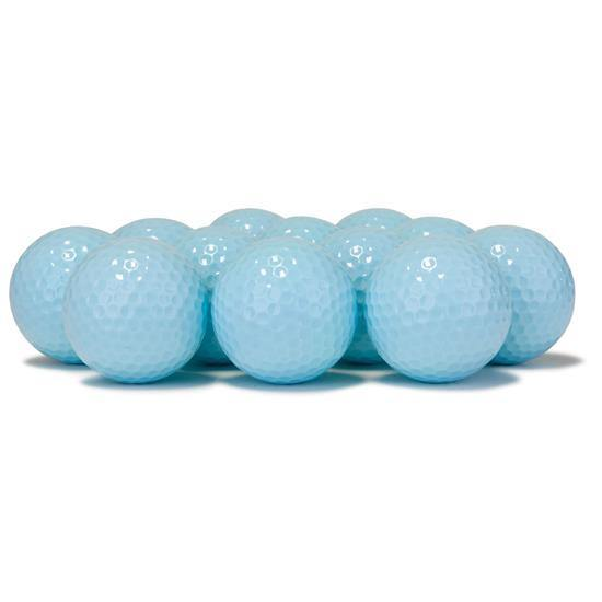 New Blank Polar Blue Golf Balls - Golf Balls Direct