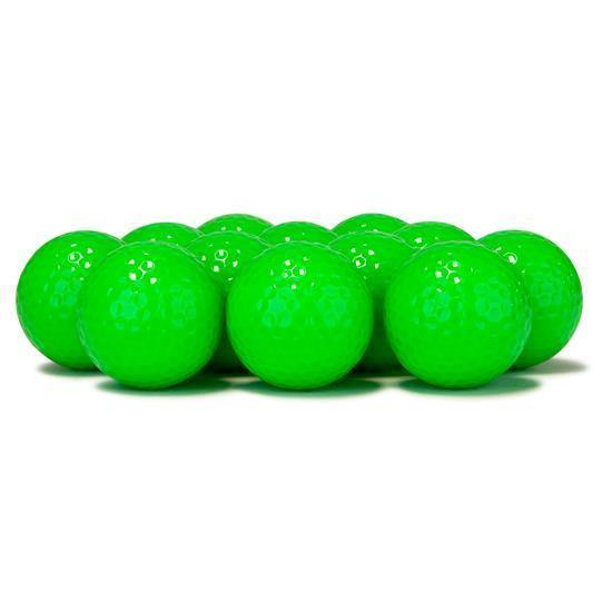 New Blank Lime Golf Balls