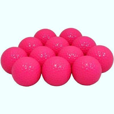 New Blank Pink Golf Balls - Golf Balls Direct