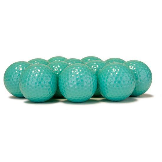 New Blank Teal Golf Balls