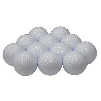 New Blank White Golf Balls
