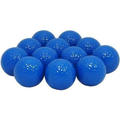 New Blank Blue Golf Balls - Golf Balls Direct