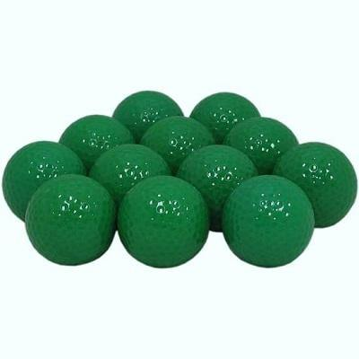 New Blank Green Golf Balls - Golf Balls Direct