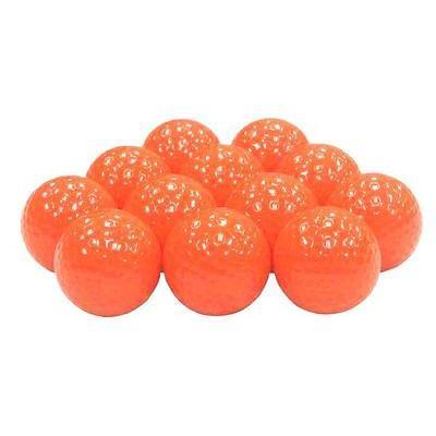 New Blank Orange Golf Balls - Golf Balls Direct