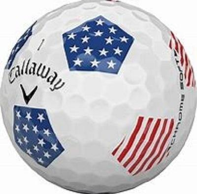 Callaway Chrome Soft Truvis Stars and Stripes - Golf Balls Direct