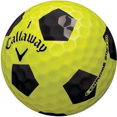 Callaway Chrome Soft Yellow Truvis - Golf Balls Direct