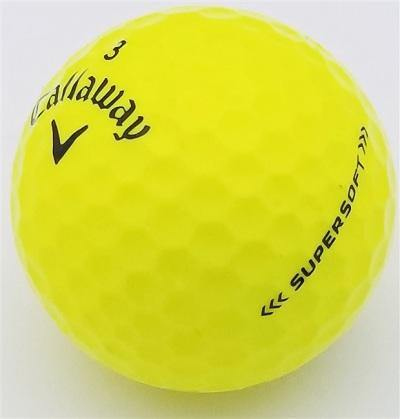Callaway SuperSoft High Visibilty Yellow - Golf Balls Direct