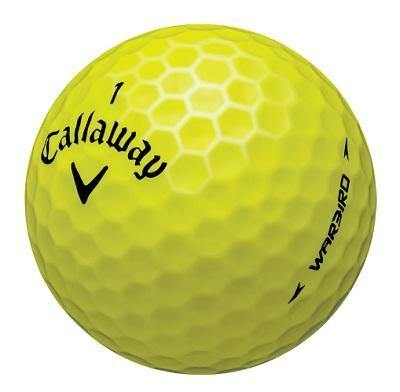 Callaway Warbird Yellow - Golf Balls Direct