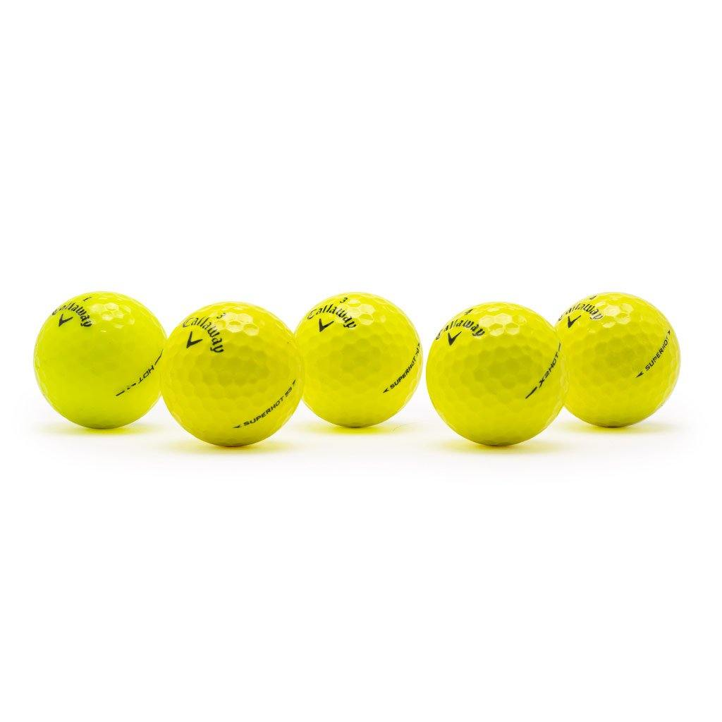 Callaway Hot Yellow Mix - Golf Balls Direct