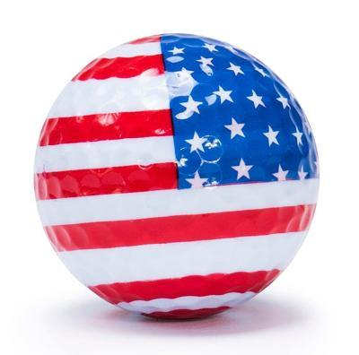 "New ""Flag 1"" Novelty Golf Balls (3 pack) - Golf Balls Direct"