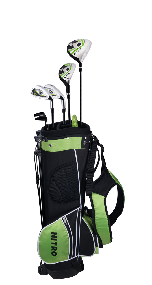 New Nitro Crossfire Golf Clubs (Starter Set) Ages 5-8 - Golf Balls Direct