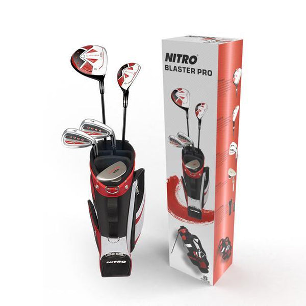 New Nitro Blaster Pro Junior Golf Clubs - Ages 9-12 (LH)