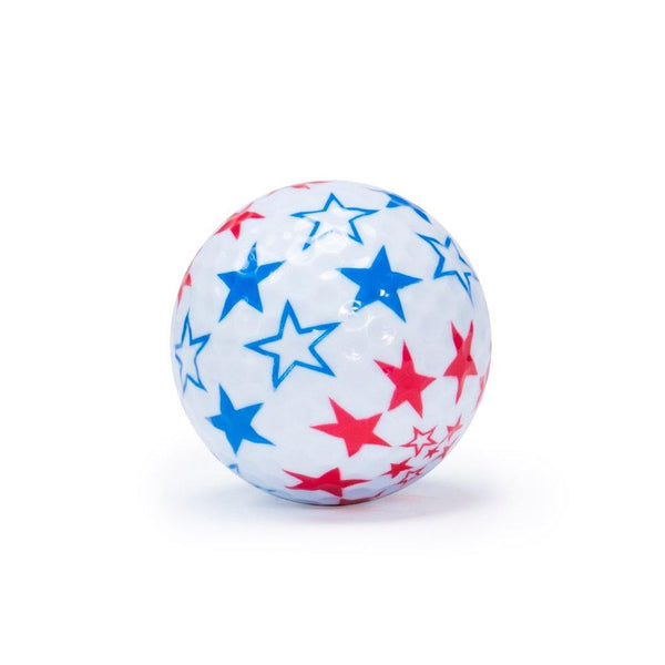 "New ""Flag 2"" Novelty Golf Balls (3 pack) - Golf Balls Direct"