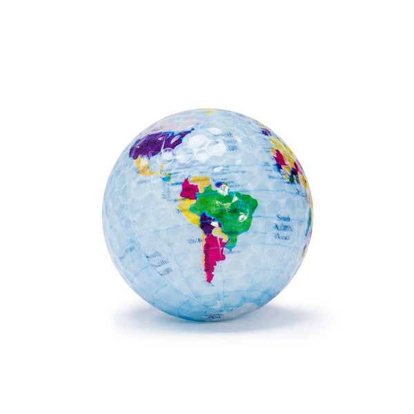 "New ""Globe"" Novelty Golf Balls (3 pack) - Golf Balls Direct"