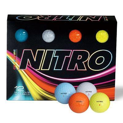 NEW Nitro Crossfire Multi Golf Balls - Golf Balls Direct