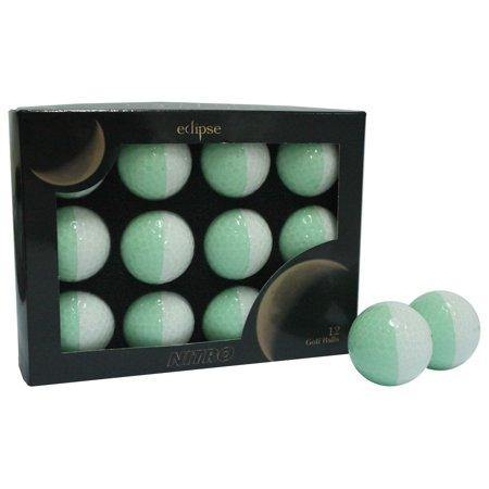 New Nitro Eclipse Golf Balls (White/Mint) - Golf Balls Direct